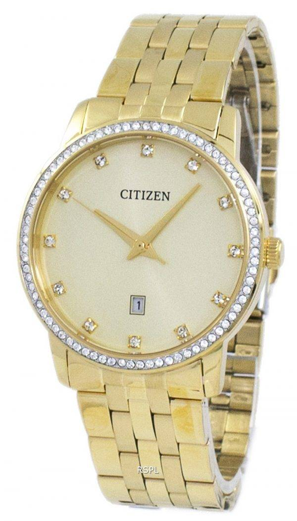 Montre Citizen analogique Quartz diamant Accent BI5032 - 56p masculine