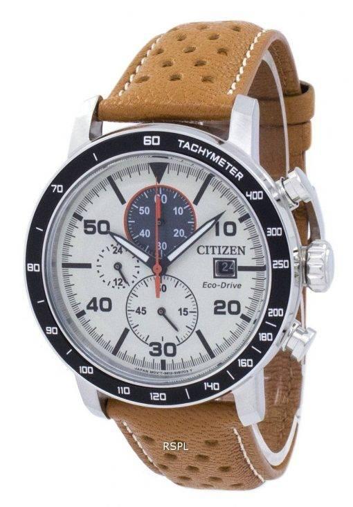 Citizen Eco-Drive chronographe tachymètre CA0641-16 X montre homme