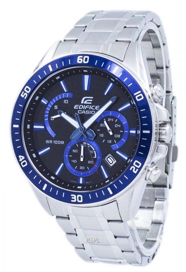 Montre Casio Edifice Chronographe Quartz EF-552D-1A2V EFR552D-1A2V masculin