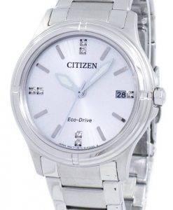 Montre Citizen Eco-Drive diamant Accent FE6050-55 a féminin