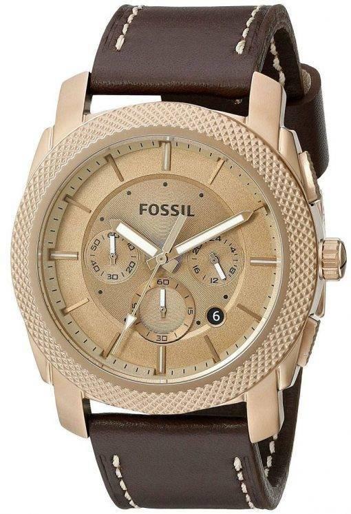 Machine de fossiles Chronographe Quartz FS5075 montre homme