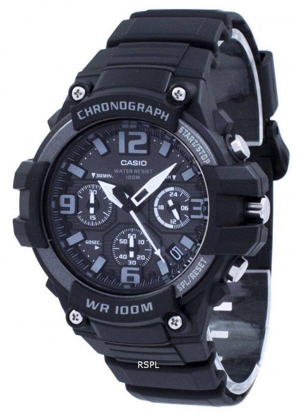 Montre Casio Chronographe Quartz MCW-100H-1A3V MCW100H-1A3V masculin