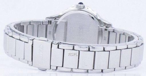 Montre Seiko classique Quartz diamant Accent SRZ485 SRZ485P1 SRZ485P féminin