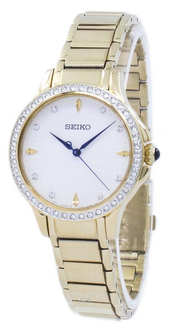 Montre Seiko Quartz diamant Accent SRZ488 SRZ488P1 SRZ488P féminin