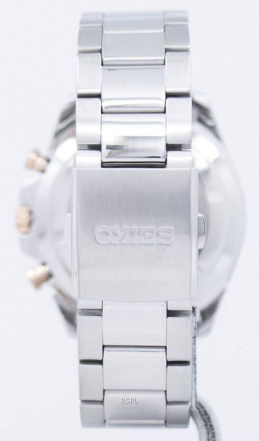 Montre Seiko Sport chronographe tachymètre Quartz SSB281 SSB281P1 SSB281P hommes