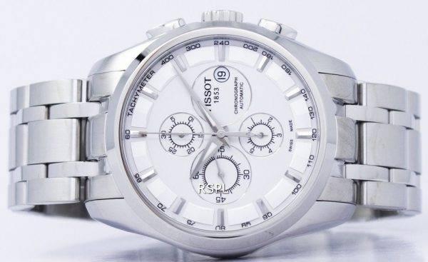 Montre Tissot T-Classic Couturier chronographe automatique T035.627.11.031.00 T0356271103100 masculin