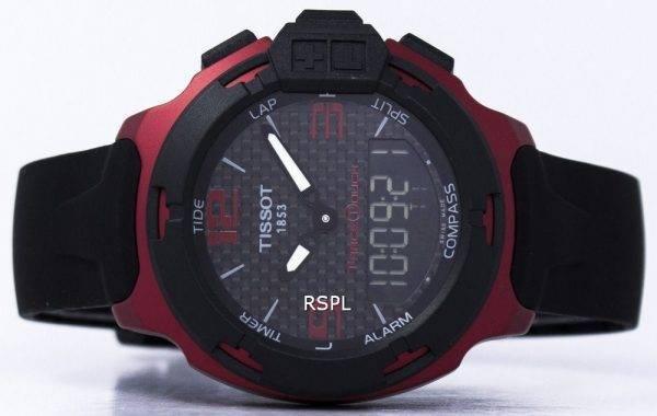 Montre Tissot T-Race Touch Aluminium quantième perpétuel T081.420.97.207.00 T0814209720700 masculin