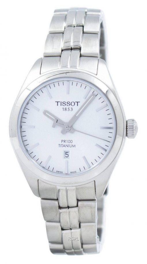 Montre Tissot T-Classic PR 100 titane Quartz T101.210.44.031.00 T1012104403100 féminin