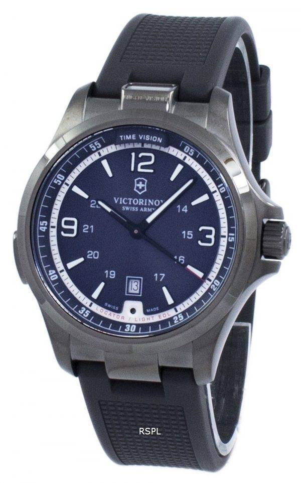 Montre Victorinox Swiss Army Night Vision Quartz GMT 241596 masculin