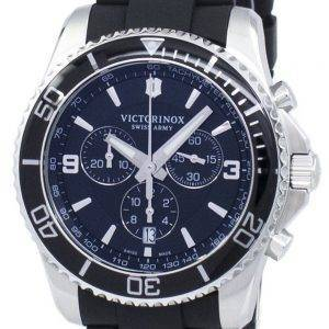 Montre Maverick Victorinox Swiss Army chronographe tachymètre Quartz 241696 homme