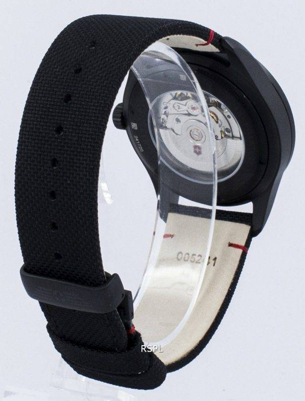 Montre Victorinox Airboss Black Edition Swiss Army automatique 241720 homme