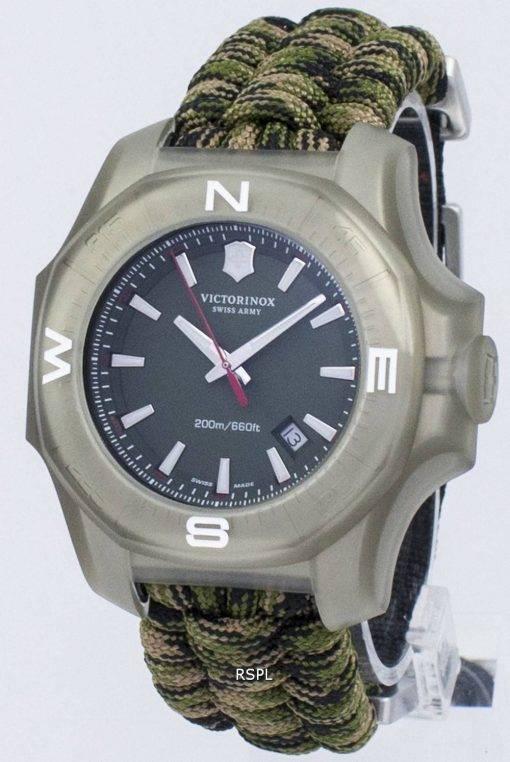 Victorinox I.N.O.X. Swiss Army Quartz 200M 241727 montre homme