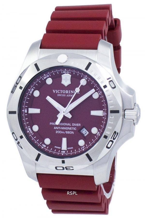 Victorinox I.N.O.X. Swiss Army Professional Diver 200M Quartz 241736 montre homme