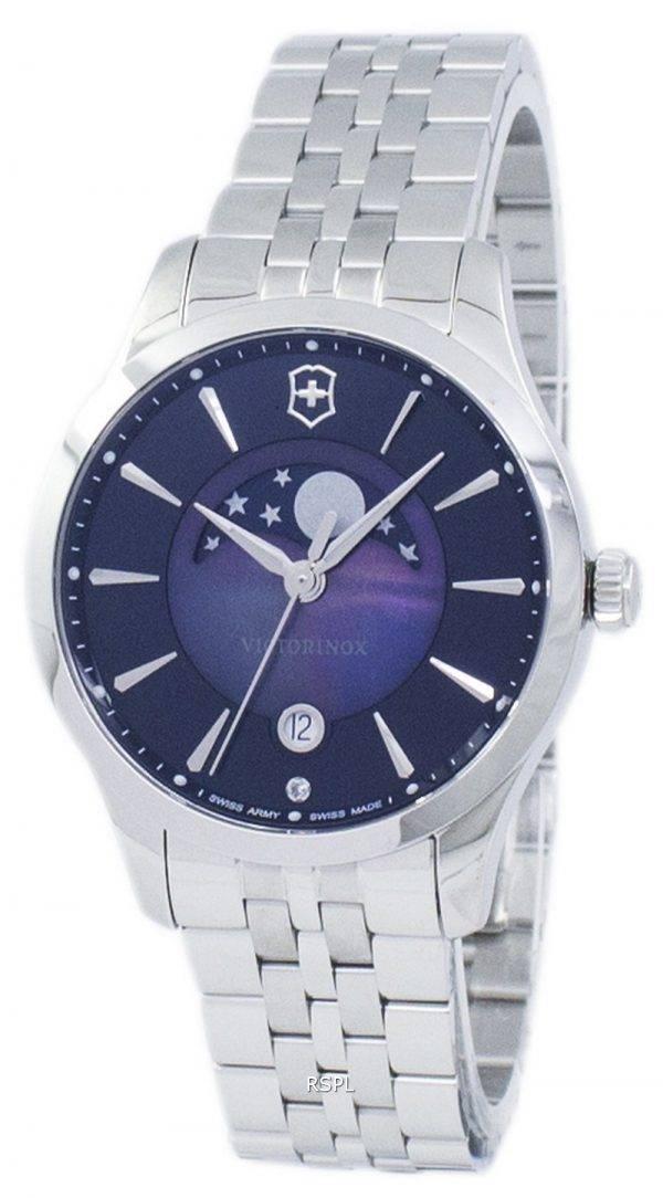 Victorinox Alliance armée suisse petite lune Quartz 241752 Women Watch
