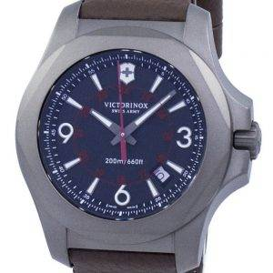 Victorinox I.N.O.X. titane Swiss Army Quartz 200M 241778 montre homme