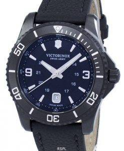 Montre Victorinox Maverick gros Black Edition Swiss Army Quartz 241787 masculin