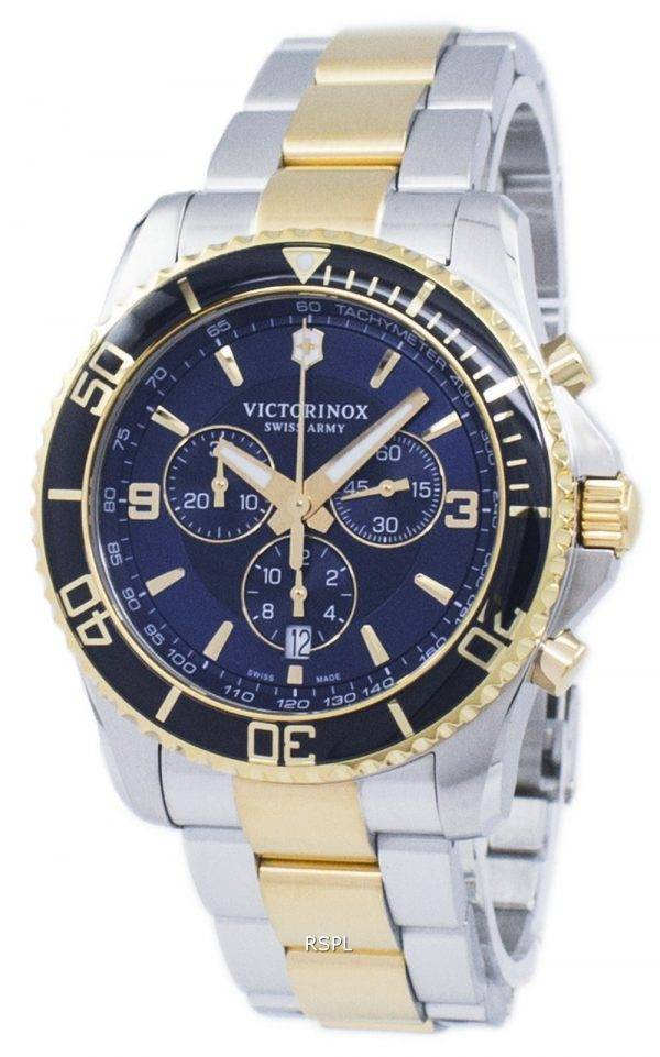 Montre Victorinox Maverick armée suisse chronographe tachymètre Quartz 241791 masculin