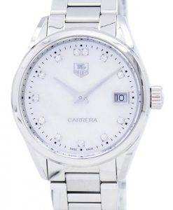 TAG Heuer Carrera Quartz diamant Accent WAR1314. BA0778 Women Watch