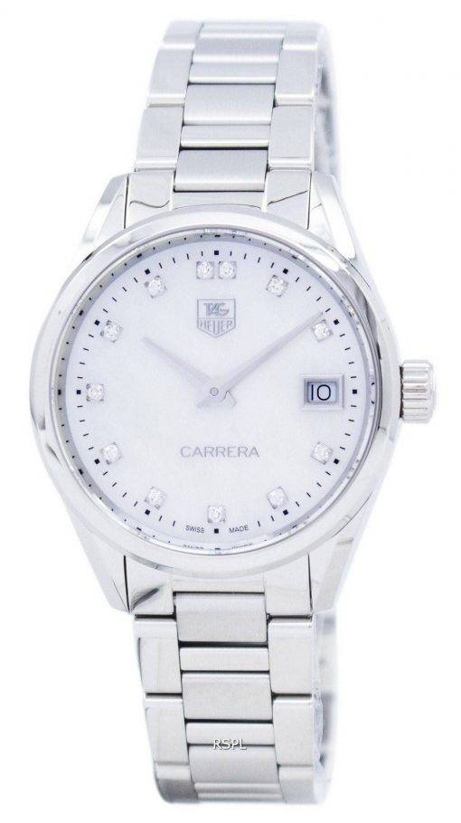 TAG Heuer Carrera Quartz diamant Accent WAR1314. BA0778 Women Watch