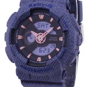 Casio G-Shock Baby-G monde temps analogique numérique BA-110DE-2 a 1 BA110DE2A1 Women Watch