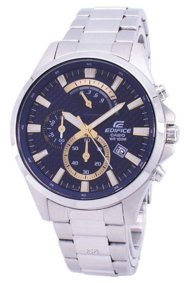 Casio Edifice rétrograde montre chronographe Quartz EFV-530d-2AV EFV530D2AV masculin