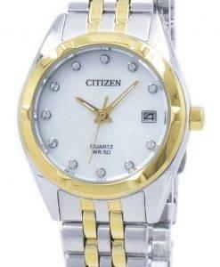 Montre Citizen Eco-Drive diamant Accent EU6054 - 58d féminin