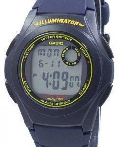Casio Illuminator deuxième fuseau horaire Chrono numérique F-200W-2 b F200W-2 b montre homme