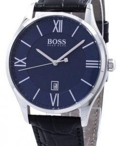 Hugo Boss gouverneur Quartz 1513553 montre homme