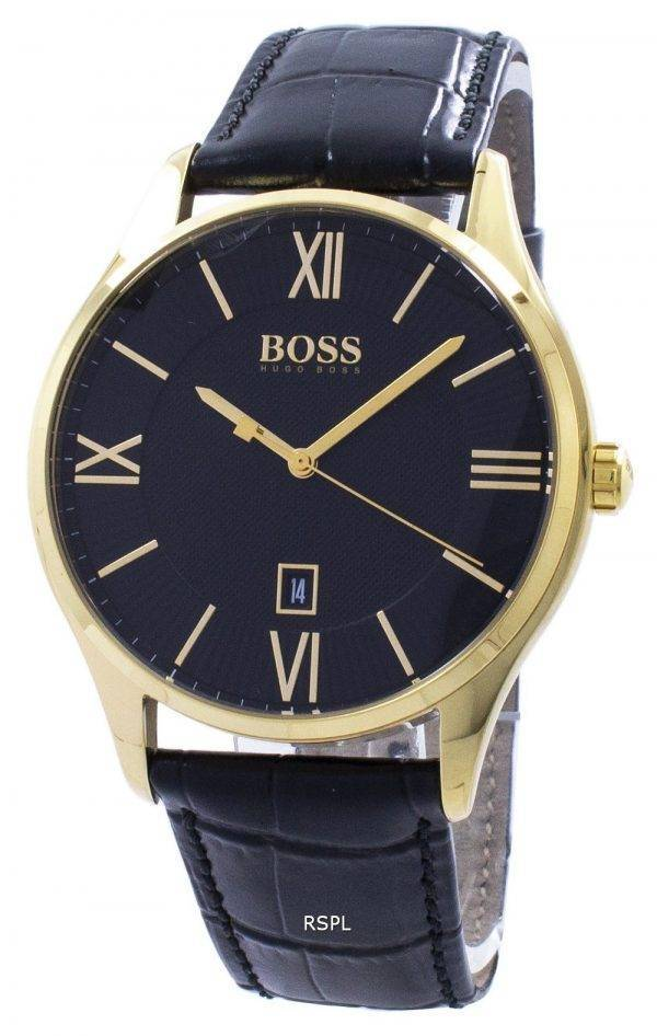 Hugo Boss gouverneur Quartz 1513554 montre homme