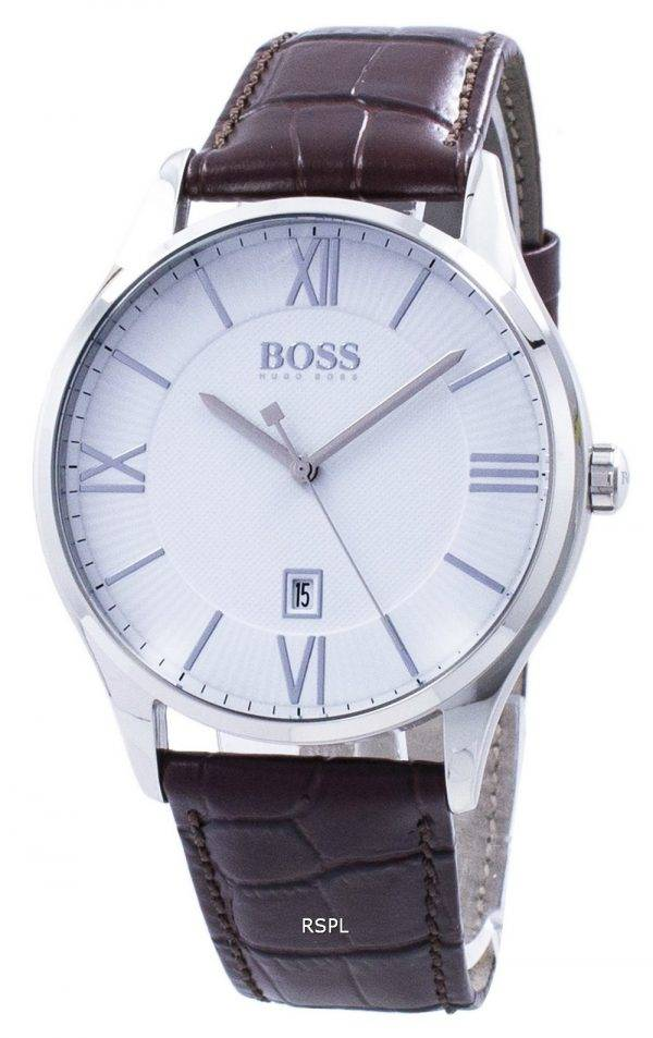 Hugo Boss gouverneur Quartz 1513555 montre homme