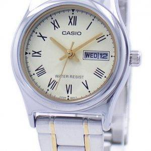 Montre Quartz analogique Casio LTP-V006SG-9 b LTPV006SG-9 b féminin