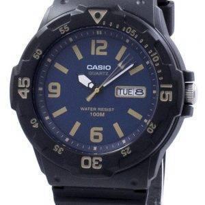 Casio jeunesse Diver Quartz analogique MRW-200H-2B3V MRW200H-2B3V montre homme