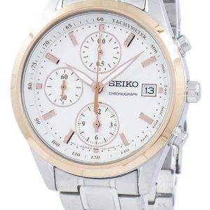 Montre Seiko chronographe tachymètre Quartz SNDV56 SNDV56P1 SNDV56P féminin