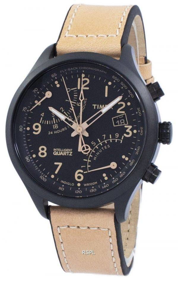 Montre Timex Indiglo Intelligent Fly-Back Chronographe Quartz T2N700 masculin