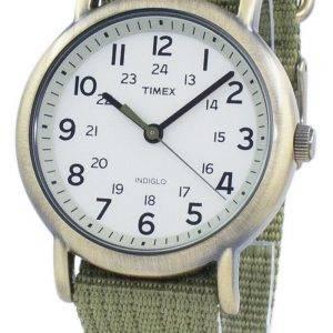 Weekender Timex Indiglo Quartz T2N894 montre unisexe