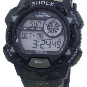Timex Expedition choc Base alarme Indiglo Digital T49976 montre homme
