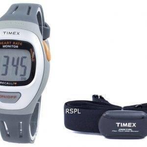Timex Trainer facile fréquence cardiaque moniteur Indiglo BPM numérique T5K730 montre unisexe