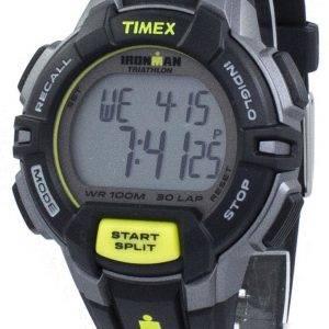 Timex montre Ironman Triathlon 30 robuste tour numérique Indiglo T5K790 hommes de sport