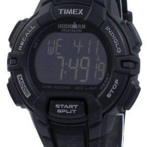 Timex montre Ironman Triathlon 30 robuste tour numérique Indiglo T5K793 hommes de sport