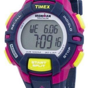 Timex montre Ironman Triathlon 30 robuste tour numérique Indiglo T5K813 femmes de sport