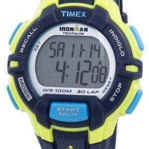 Timex montre Ironman Triathlon 30 robuste tour numérique Indiglo T5K814 hommes de sport