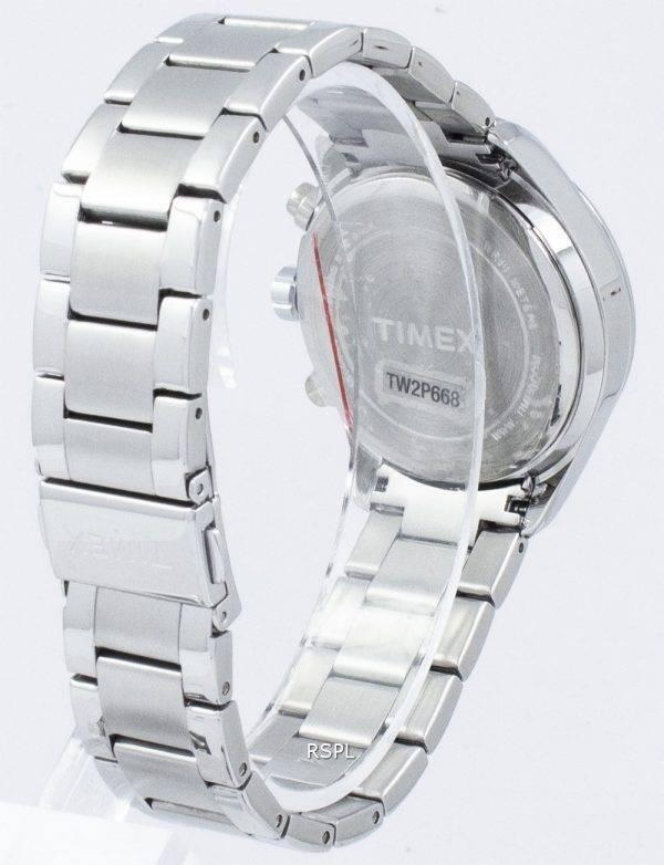 Montre Timex Miami Chronographe Quartz diamant Accent TW2P66800 féminin