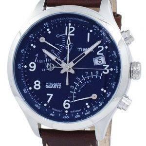 Montre Timex Intelligent Fly-Back Chronographe Quartz Indiglo TW2P78800 masculin