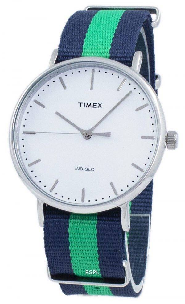 Weekender Timex Indiglo Quartz de Fairfield TW2P90800 montre unisexe
