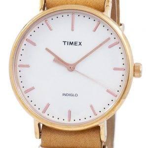 Weekender Timex Indiglo Quartz de Fairfield TW2P91200 montre unisexe