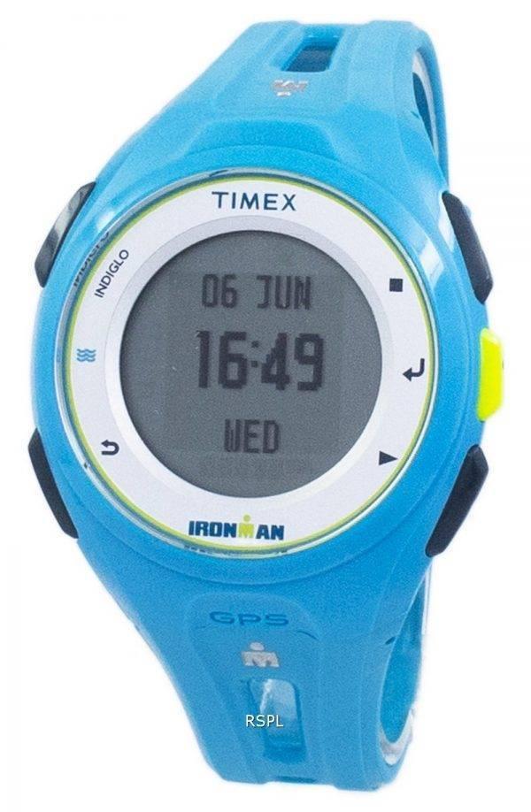 Montre unisexe Run X20 TW5K87600 GPS Timex Ironman Indiglo Digital