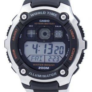 Montre Sport Casio Digital World Time AE-2000WD-1AVDF AE-2000WD-1AV masculine