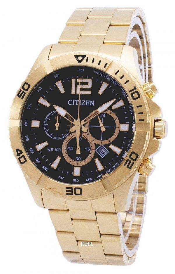 Citizen Chronographe Quartz tachymètre AN8122-51E montre homme