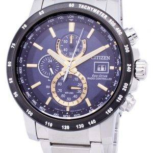 Citizen Eco-Drive Radio Controlled montre Chronograph AT8124 - 83M hommes
