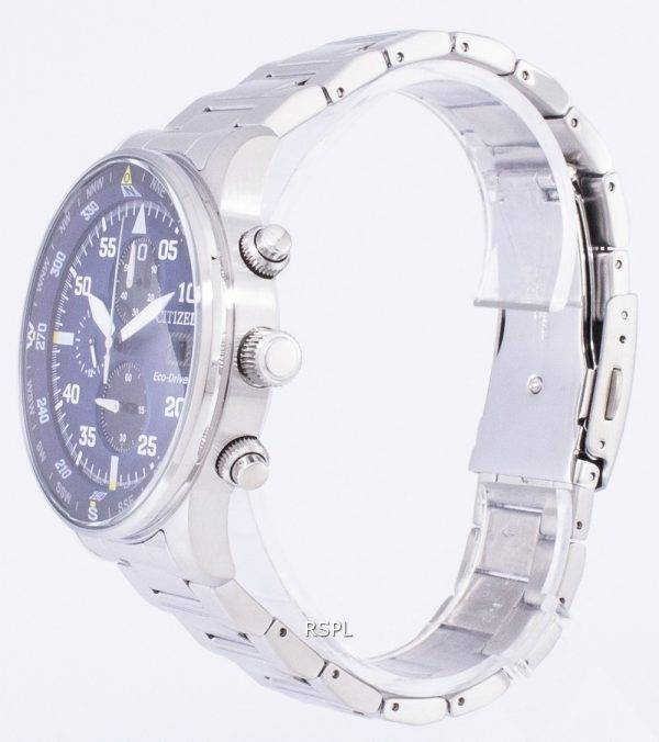 Montre chronographe aviateur Citizen Eco-Drive CA0690 - 88L masculin